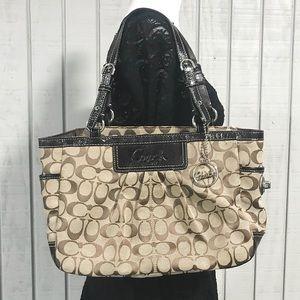 Coach Brown Shoulder Bag/ Purse